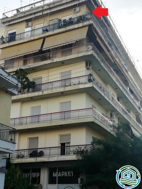 Διαμέρισμα 5ου ορόφου Σκαγιοπούλειο – Πάτρα
